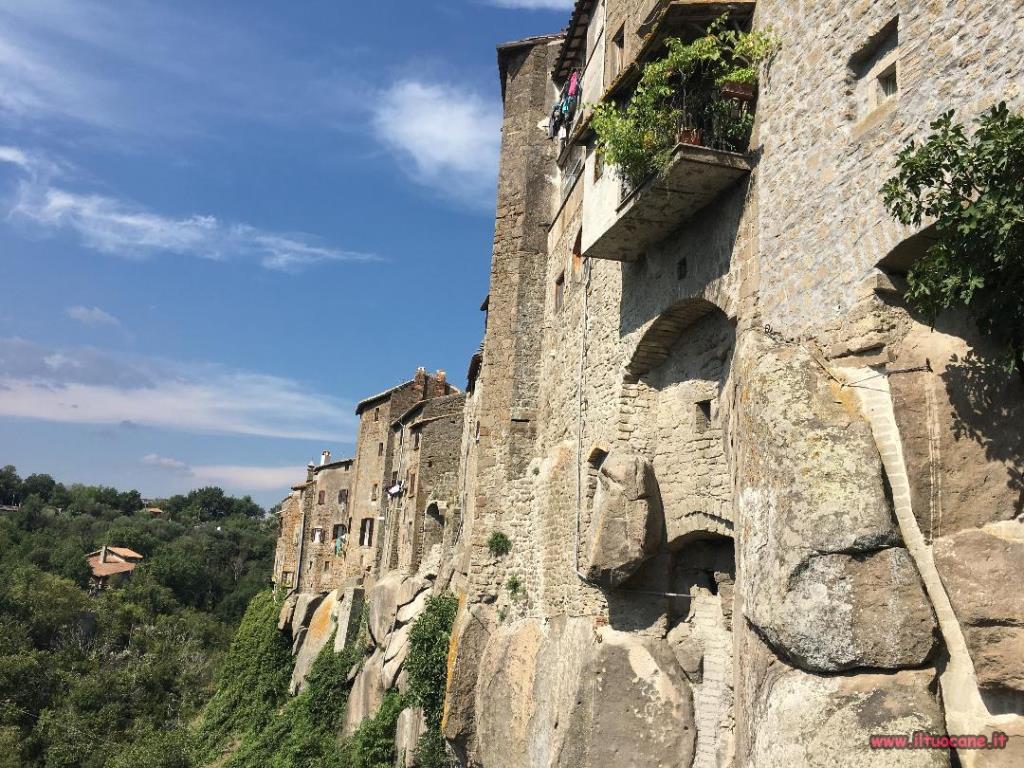 In Vacanza Con Il Cane Vitorchiano E Celleno Il Borgo Fantasma